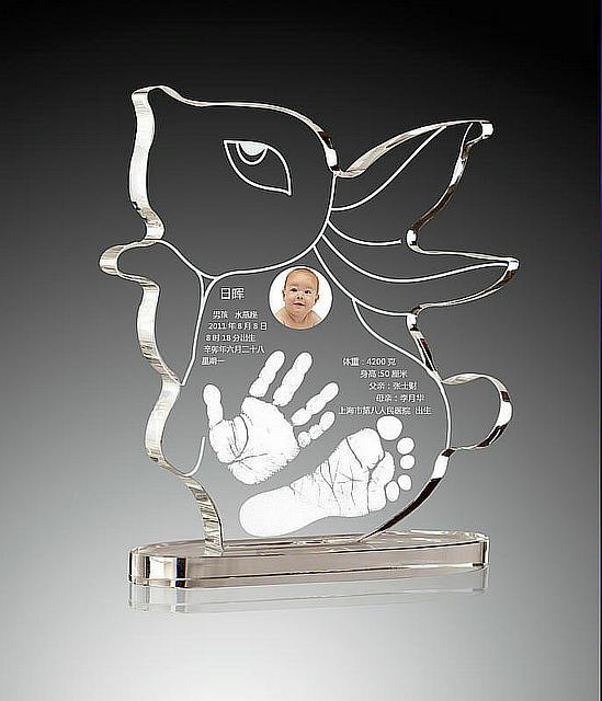 11兔年水晶手脚印系列 烟台嘟嘟孕婴用品有限公司,